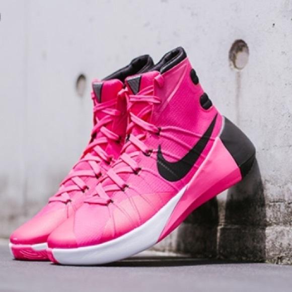 Nike Hyperdunk 25 Pink Baseketball Shoe
